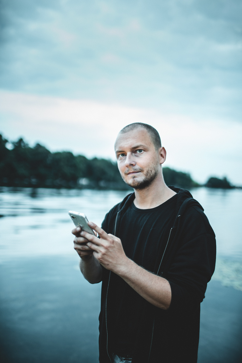 Male model photo shoot of michael_huebner