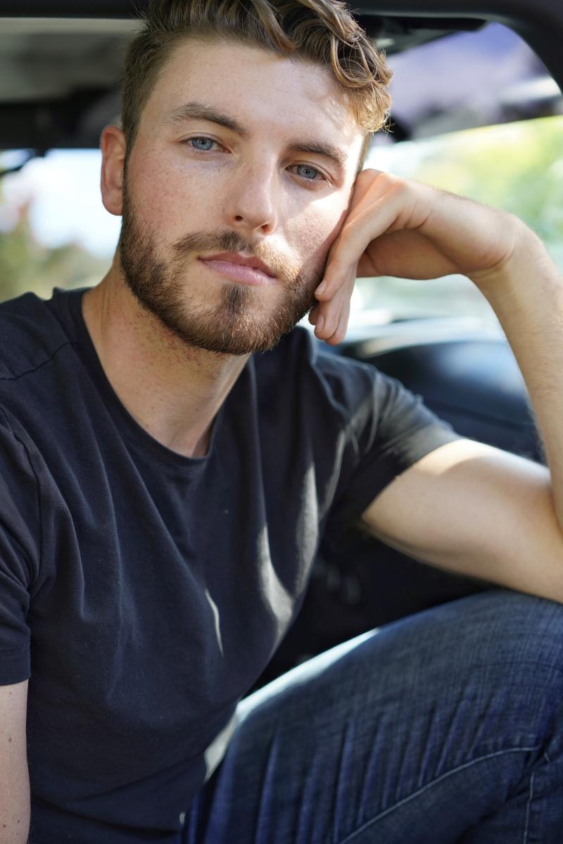Male model photo shoot of mooreharris by Art Ribbel Photography