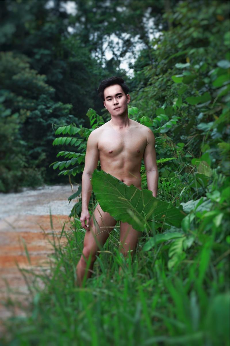 Male model photo shoot of ron chin