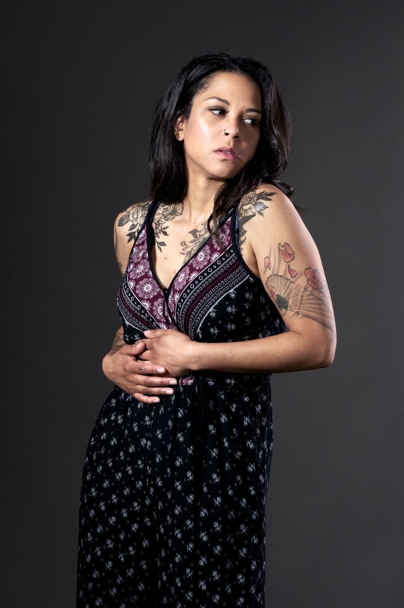 Female model photo shoot of Koriandr by Tushar Fotografia in San Jose, CA
