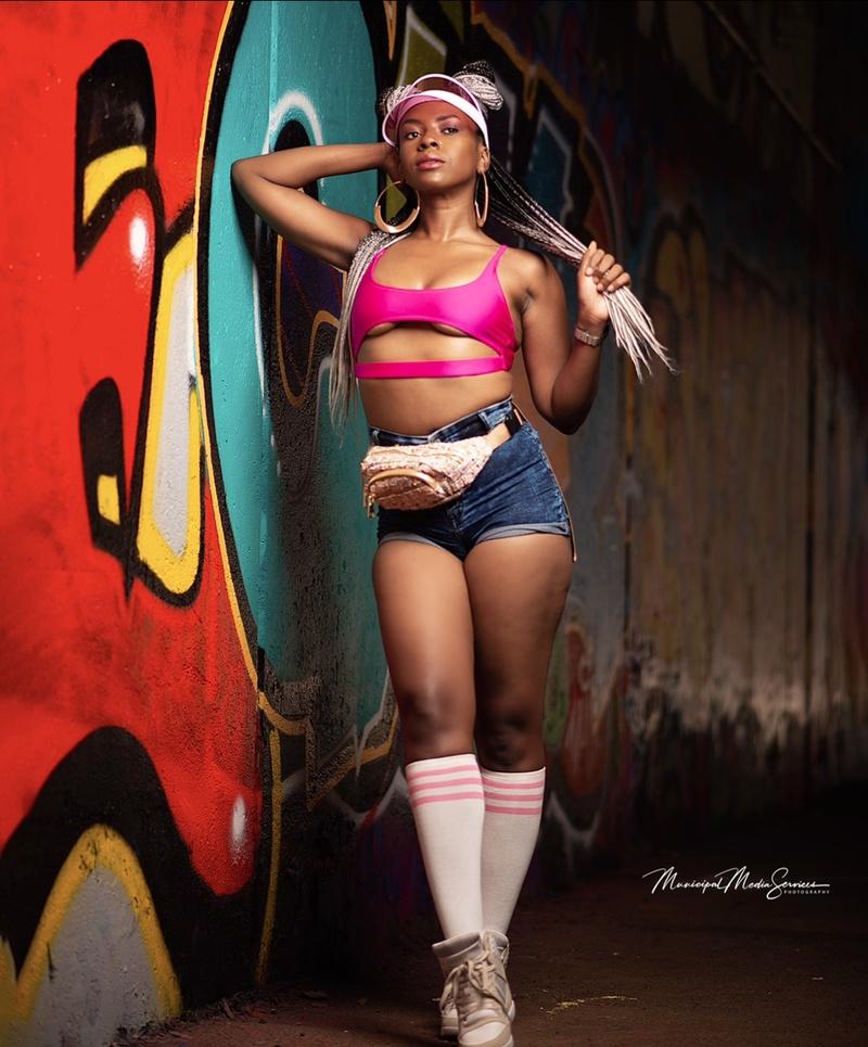 Female model photo shoot of LexGriffin