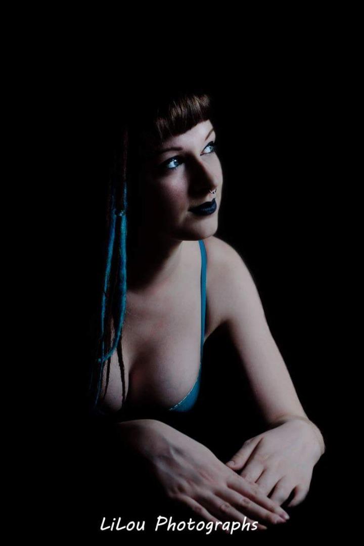Female model photo shoot of LiLou Photographs in Edmonton