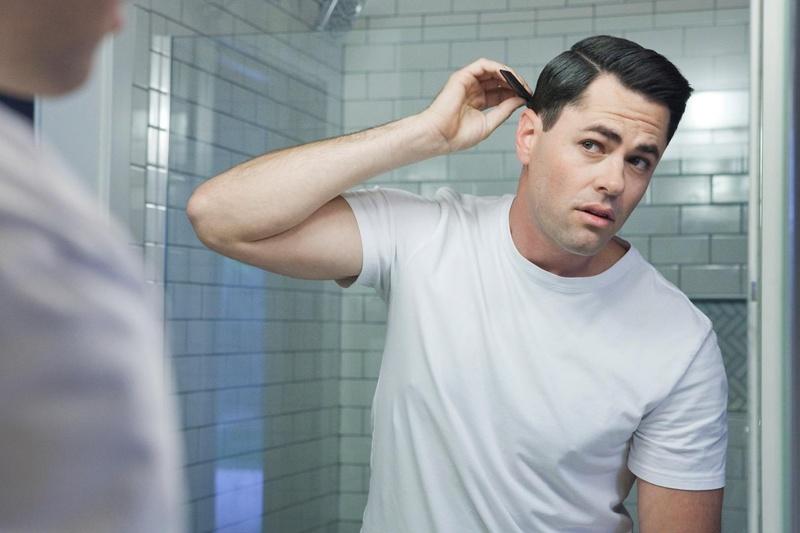 Male model photo shoot of Aaron Minegar