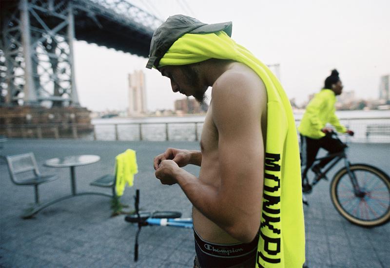 Male model photo shoot of Roberto Blanco in Manhattan
