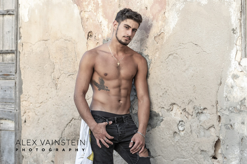 Male model photo shoot of Alex Vainstein Photography