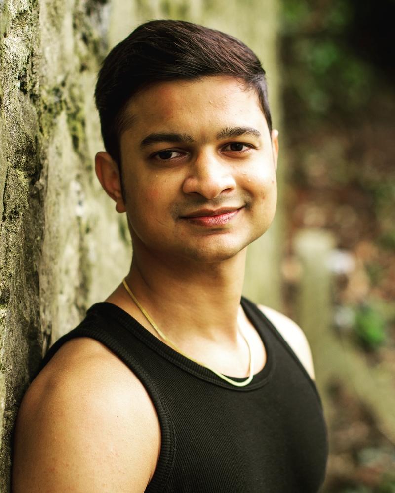 Male model photo shoot of Bhagesh