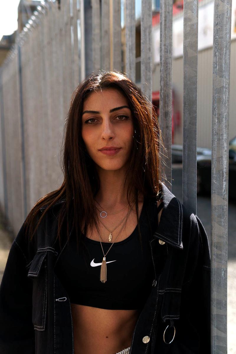 Female model photo shoot of Beatrice Kaishi