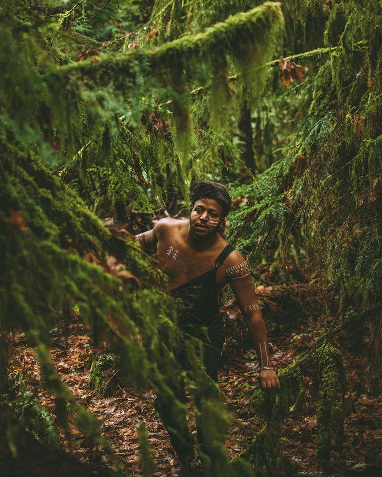 Male model photo shoot of Derrian D in Washington