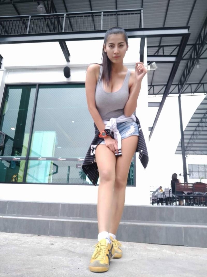 Female model photo shoot of Ornipa thai model