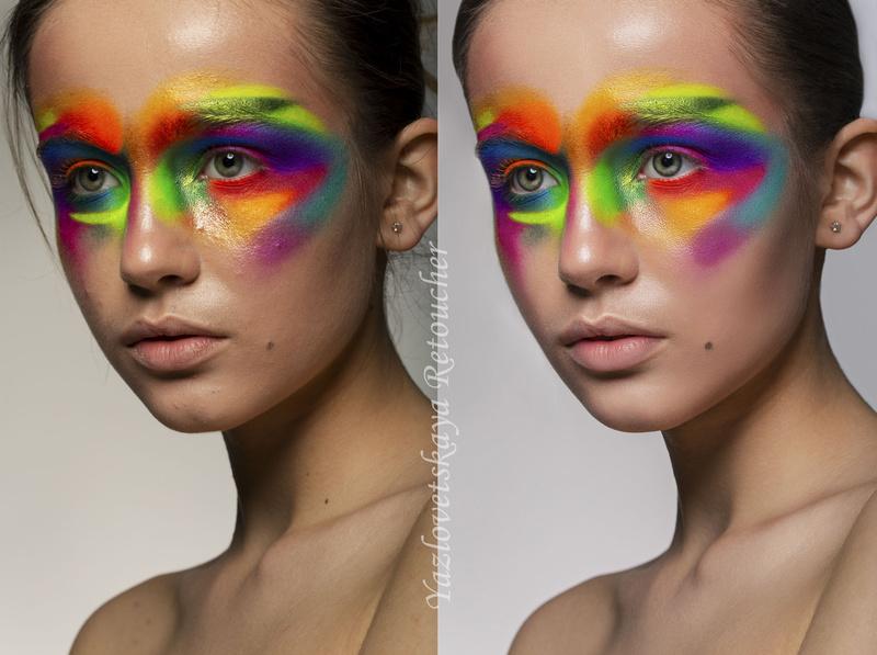 Female model photo shoot of Yazlovetska Retoucher