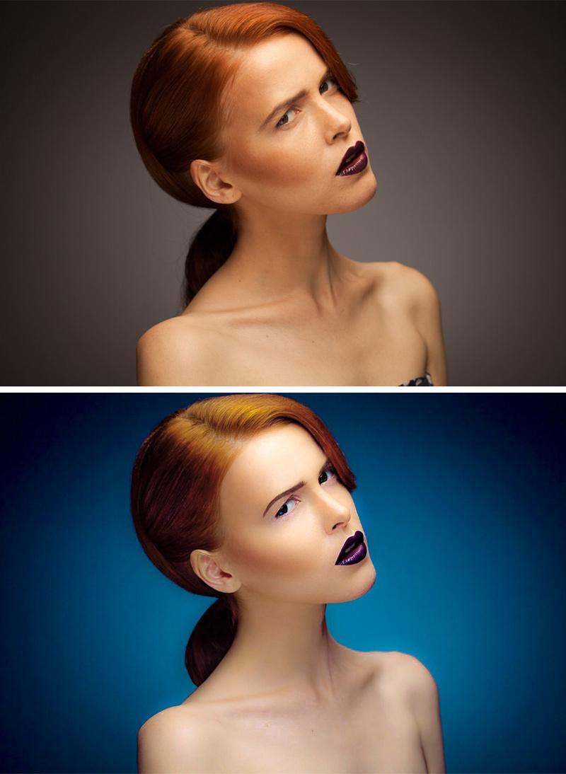 Female model photo shoot of Marta Liubarska
