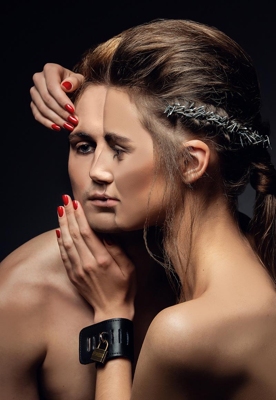 Female model photo shoot of PHOTO-GRAPHICS