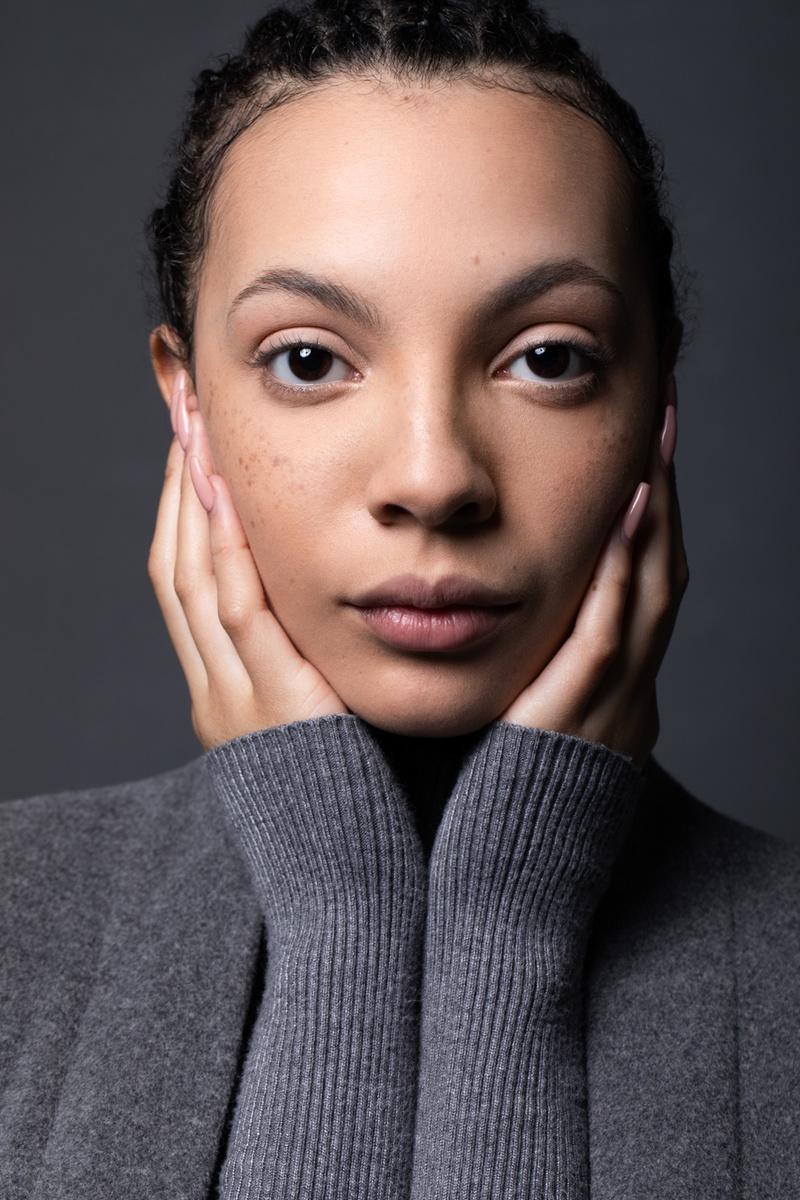 Female model photo shoot of ANNV Retouch