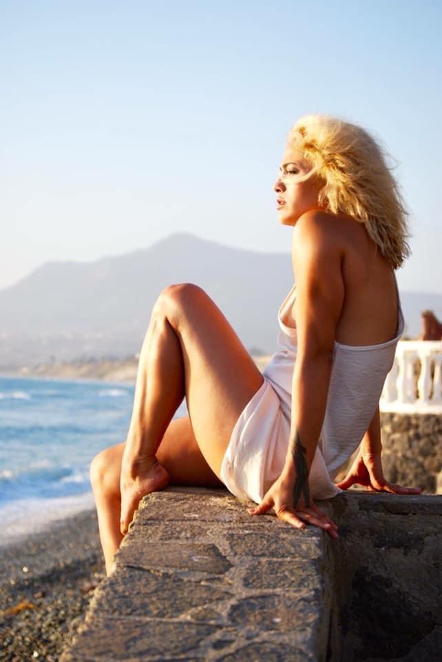 Female model photo shoot of Emma George Photography