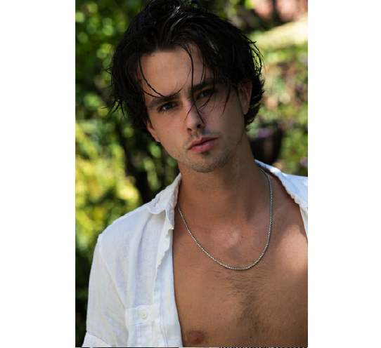 Male model photo shoot of Jaxon Underhill in Hollywood, California