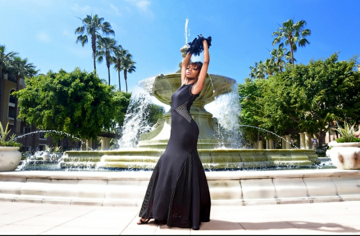 Female model photo shoot of Noble A Photography