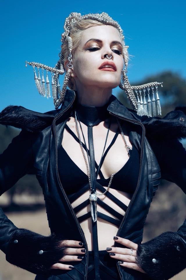 Female model photo shoot of Anomaly Zero