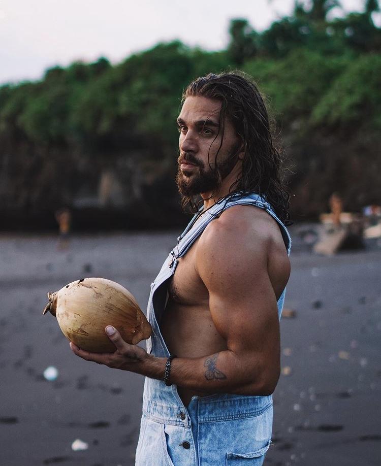 Male model photo shoot of Piotr Czechowski in Bali