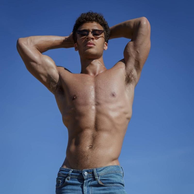 Male model photo shoot of Mikael Alvaro in Portugal