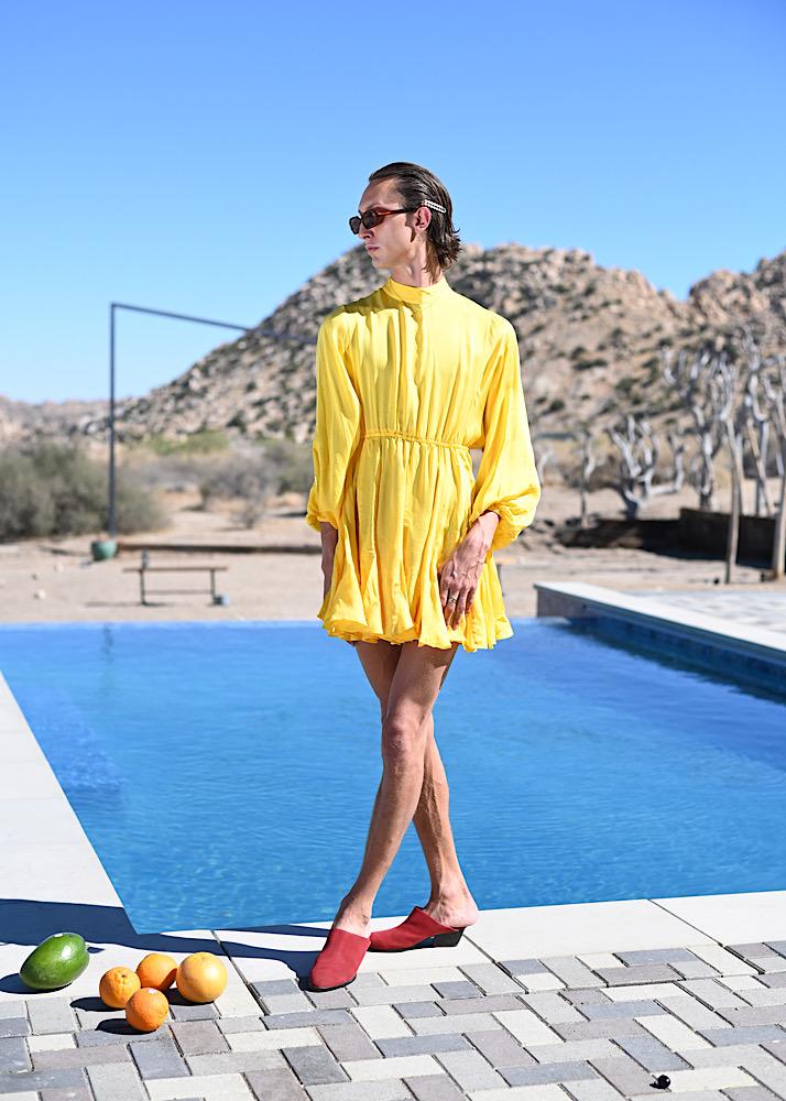 Female model photo shoot of Jeremy Lynn in Joshua Tree