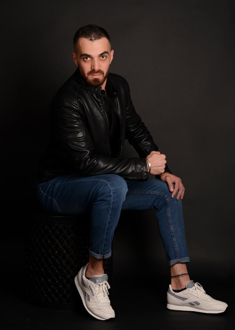 Male model photo shoot of SakhrElhamdan in Montreal