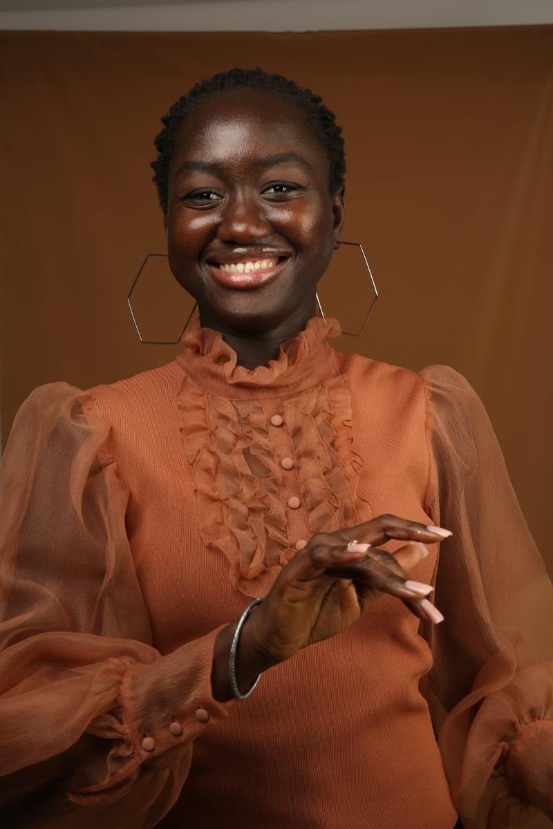 Female model photo shoot of WESTAFRICAN GAL in BRIGHTON