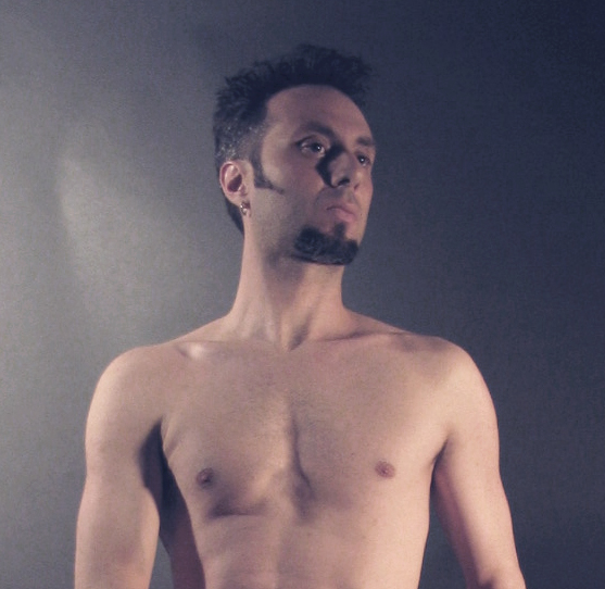 Male model photo shoot of artmodelstl in St. Louis