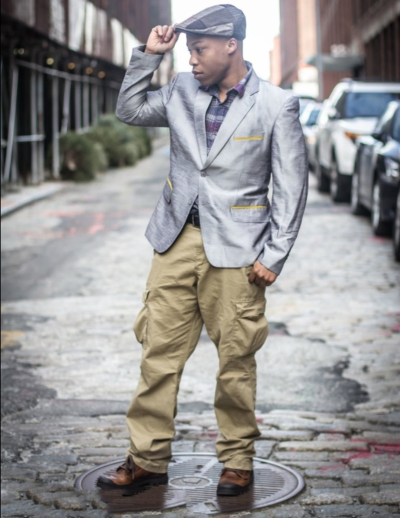 Male model photo shoot of OBI by Dominique T Pettway