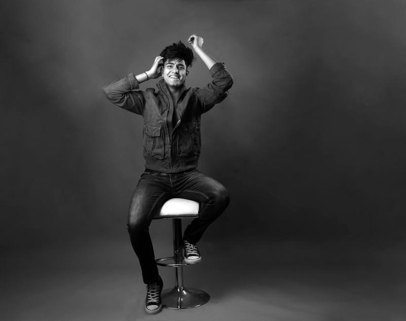 Male model photo shoot of Ghanisth