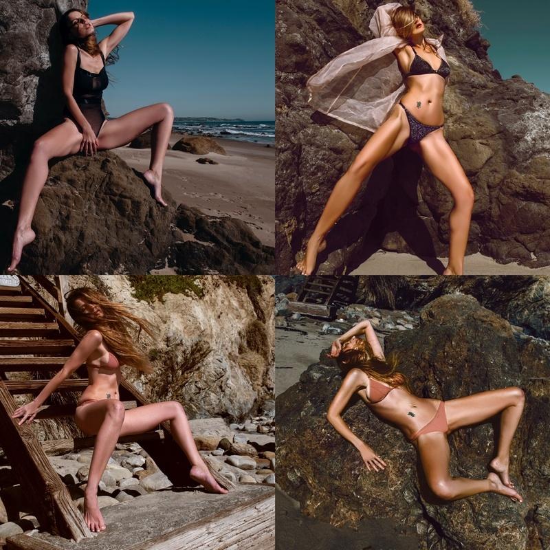 Female model photo shoot of M A R Y in Malibu