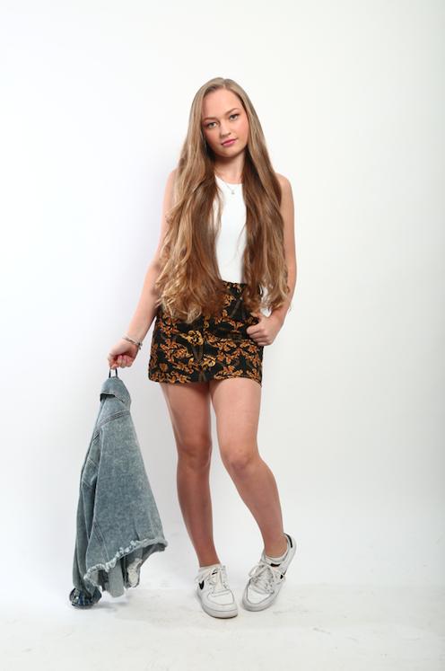 Female model photo shoot of Wiktoria Swider in London