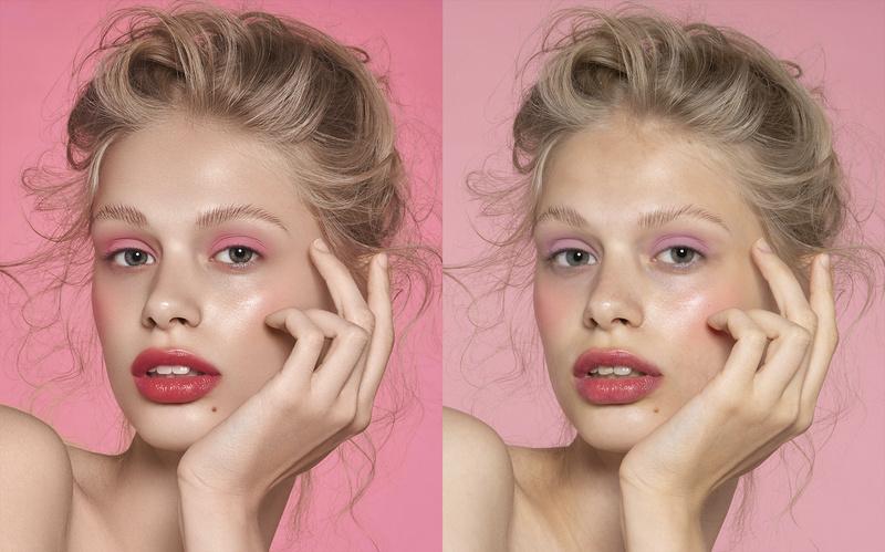 Female model photo shoot of Evora_retouch
